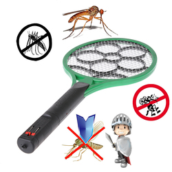 Rechargeable Electric Mosquito Swatter with LED Light Insect Pest Bug Fly Zapper Swatter Hand Racket Mosquito Killer