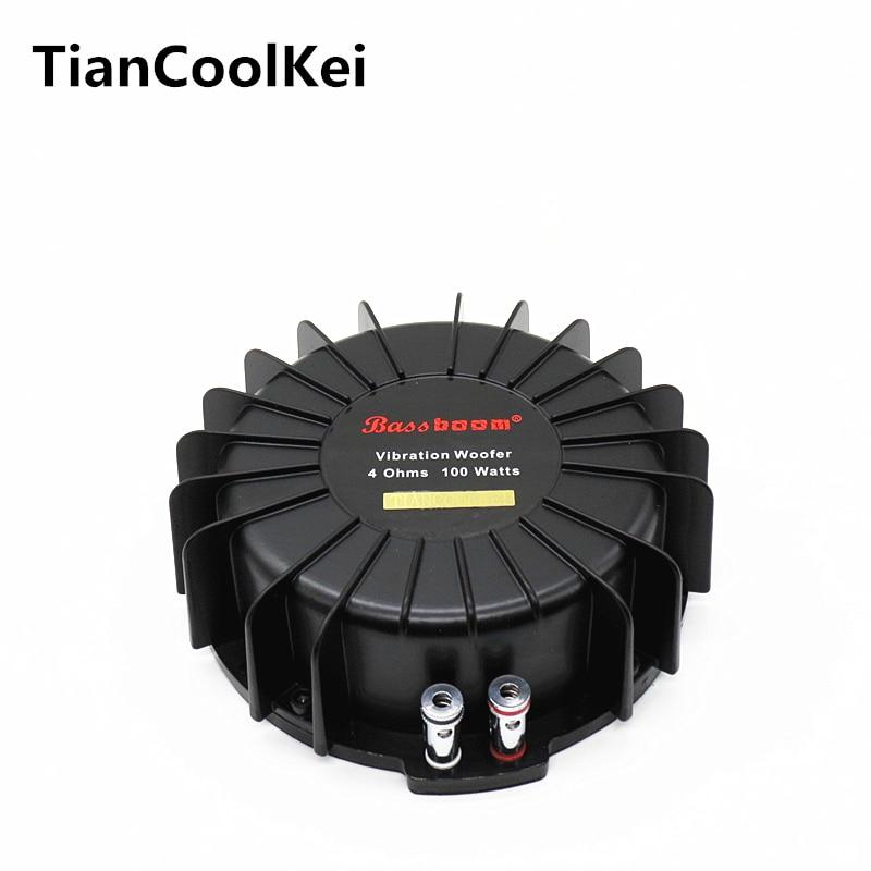 Автомобиль Тактильные преобразователя большой Бас Шейкер Вибрационный динамик эффективность хорошо 100 Вт шейкеры вибро динамик