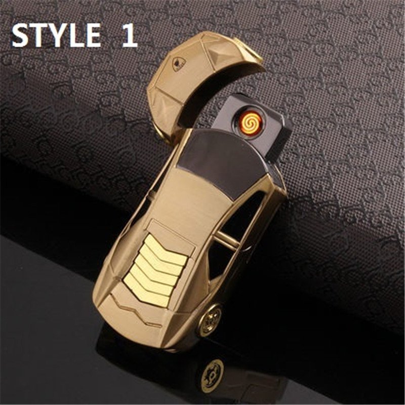 Car Modelling USB Electronic Lighter Fancy Smoking Gadgets For Men Double  Side Ignition Encendedor Flameless Lighter In Tobacco Pipes U0026 Accessories  From ...