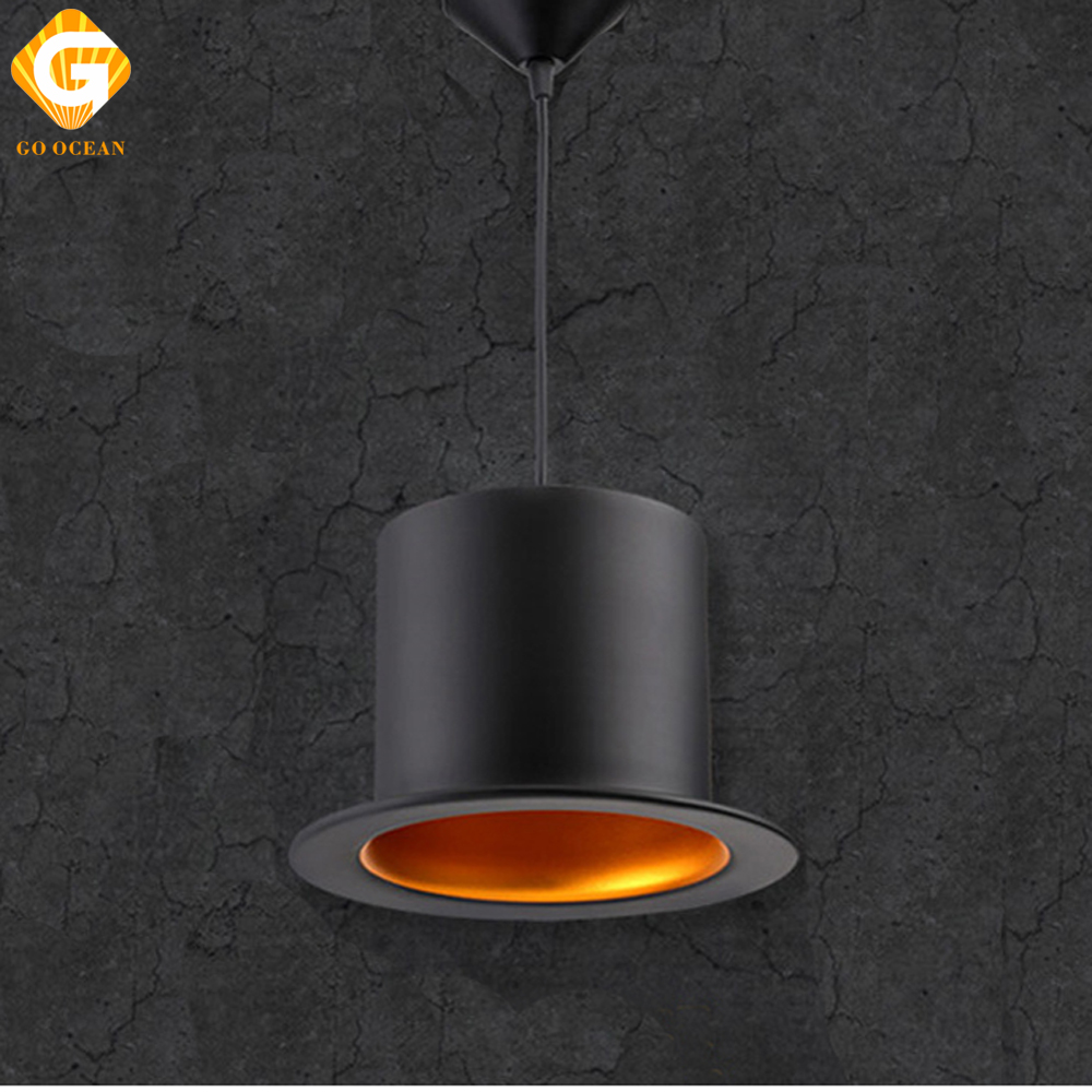 GO OCEAN Pendant Lights LED Vintage Lamps Industrial Art Deco Hanging Lamp Indoor Lighting For Bar Living Room Corridor Light dimmable pendant lights led crystal lighting hanging lamps indoor home light with remote control for hallway indoor home deco