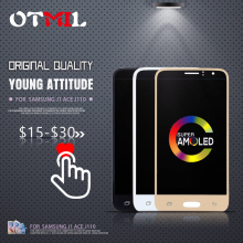 4.3Amoled For SAMSUNG Galaxy J110 LCD Touch Screen Digitizer J1 Ace Display SM-J110F J110H SM-J110FM TFT Adjust #1