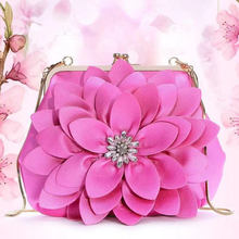 Fashion brand ladies handbag shoulder bags women small messenger flowers design with female crossbody bag