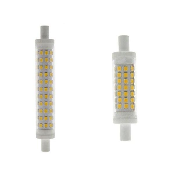Led r7s light 78mm 5w 118mm 10w ceramics body r7s lamp for Led r7s 78mm 20w