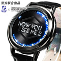 Magic Pirates of the United States watch anime watches LED Men's watches Fashion Luminous Antique Watch Relogio Relojes men 2016