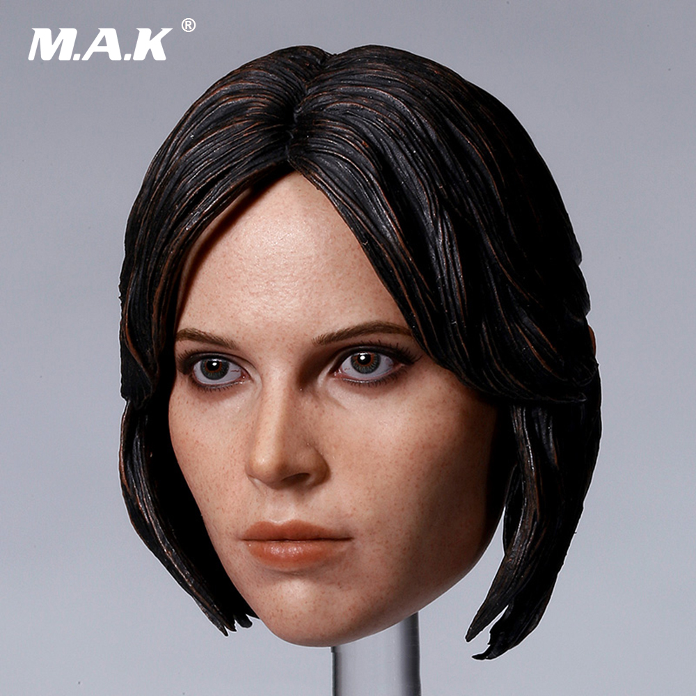 Rogue One: A Star Wars Story 1/6 Scale Female Jyn Erso Felicity Jones Head Scuplt for 12 inches Action Figure Accessory bob sinclar a western video story