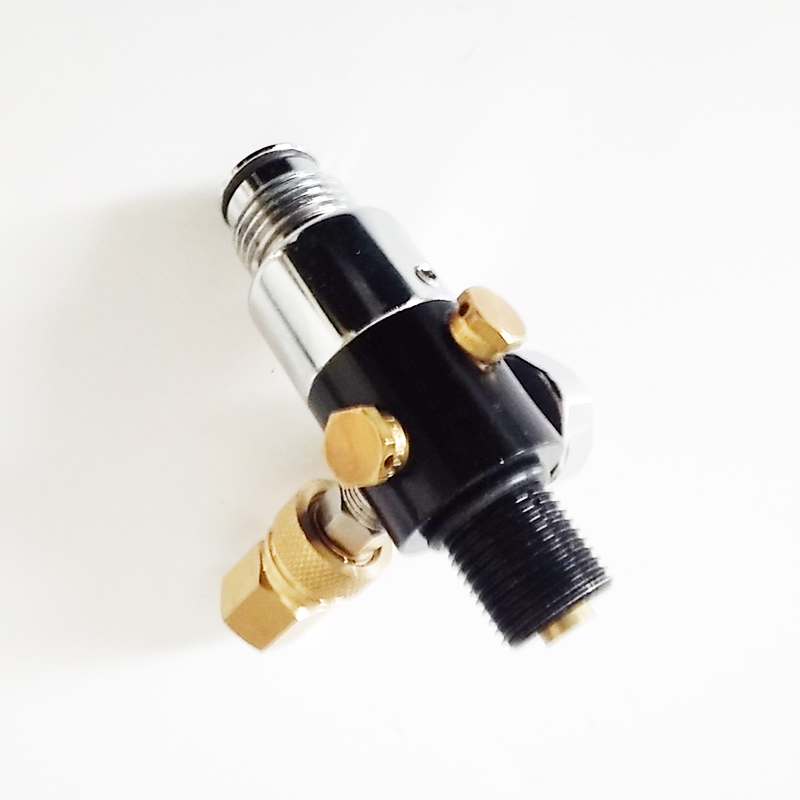 Good quality Fada-3 Regulator for Paintball tank/HPA/CO2 cylinder    -V 60g co2 tank cylinder empty paintball co2 tank