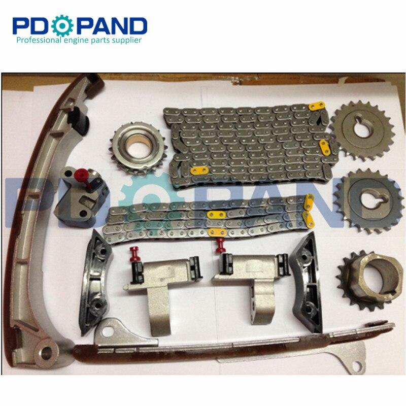 1GR 1GRFE 1GR-FE Chaîne De Distribution du Moteur Engrenage Tendeur Kit (14 pièces) pour Toyota LAND CRUISER 4000 GRJ120 4RUNNER
