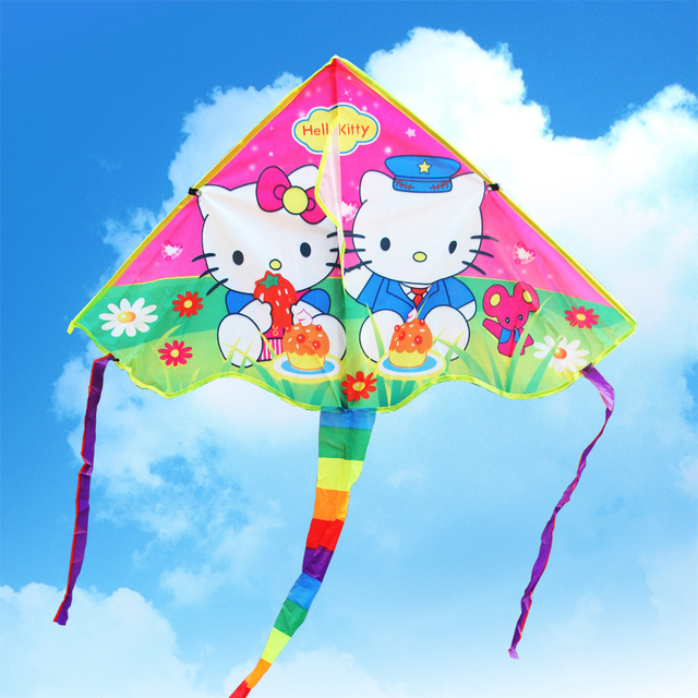 children breeze kite kite color cartoon kt cat wiring board featureschildren breeze kite kite color cartoon kt cat wiring board features crafts special gifts