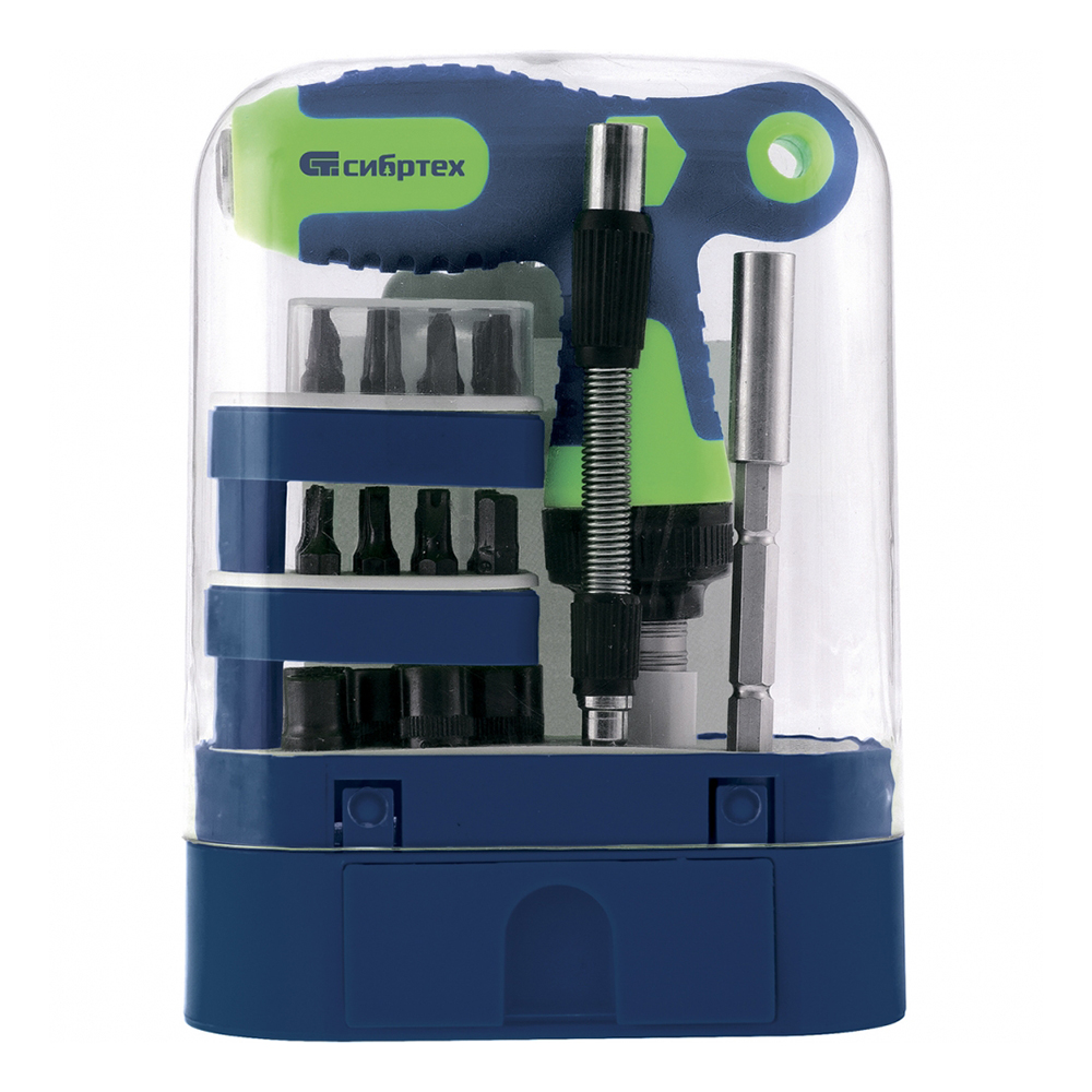 Reversible T-shaped screwdriver SIBIRTEH 13382