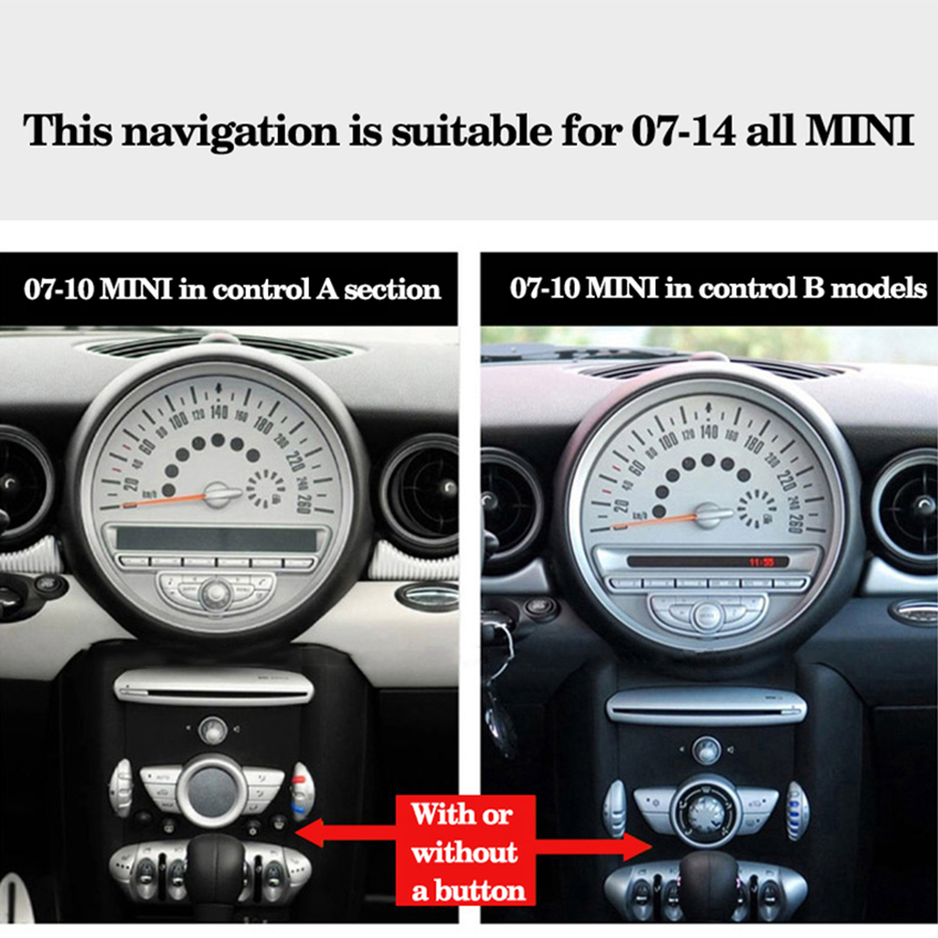 Yessun For Bmw Mini Mini Cooper 2007 2017 Car Media Player System