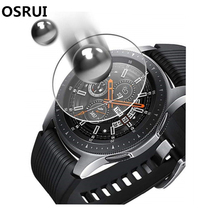 Gear S3 Glass For Samsung Galaxy watch 46mm 42mm Gear S3 Frontier S2 Sport Classic Screen Protector 9H 2.5D S 3 Tempered glass 2pcs pack tempered glass screen protector watch screen protective films for samsung galaxy watch 42 46mm