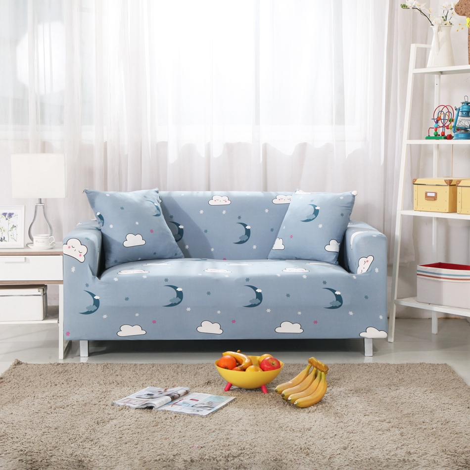 White cloud couch sofa covers for living room multi size - What size couch for my living room ...