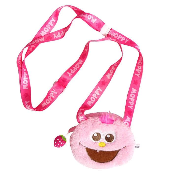 Cute Cartoon Mini Sesame Street Plush Coin Purse Unisex Wallet Multi-functional Kawaii Bag Anime Plush Toys