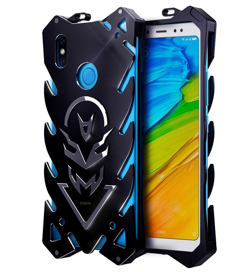 Newly Thor Metal Armor For Xiaomi Redmi Note 5 Shockproof Aviation Aluminum Phone Back Cover Case Redmi Note 5 Case Note5 Cover