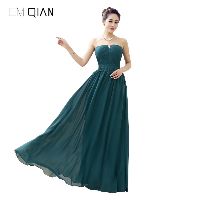 Original Design Pageant Dresses Simple A Line Notched Neck Turquoise Chiffon Evening Dress
