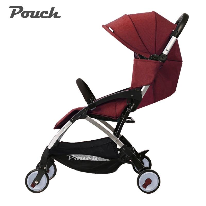 Pouch  stroller ultra-light high-profile baby stroller can sit  lie down bb car dual-use stroller folding baby pram встраиваемая акустика speakercraft profile accufit ultra slim one single asm53101 2