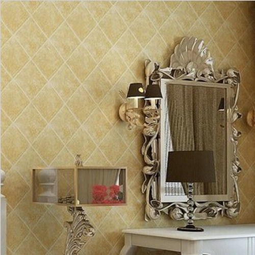 Classic stickers wall decor Chinese style wallpaper brick marble ...