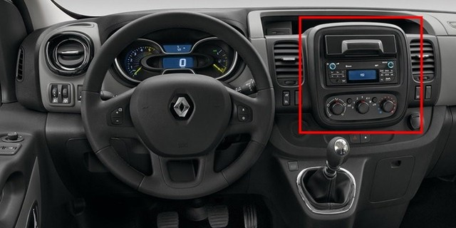 frame car dvd radio android 7 1 1 autoradio gps player headunit for renault trafic x82 2014 opel. Black Bedroom Furniture Sets. Home Design Ideas