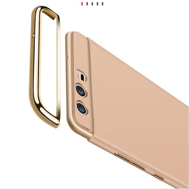 KOOSUK Bakomslag För Huawei P10 Lite Guldpläterad 3 i 1 - Reservdelar och tillbehör för mobiltelefoner - Foto 5