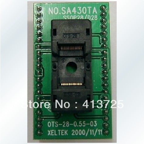Syrte 500 P/501 S/5000/E spécial SA430T test prise de l'adaptateur TSOP28 à DIP28