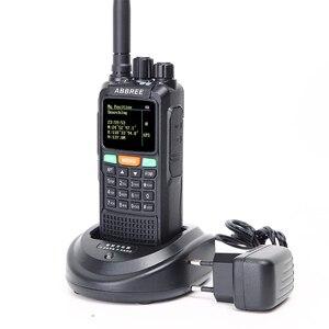 Image 2 - ABBREE AR 889G GPS SOS 10W 999CH Chéo Ban Nhạc Repeater Đêm Đèn Nền Trị Ban Nhạc 134 174/400 520/350  390 Mhz (RX) tai nghe Bộ Đàm