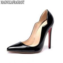 Свадебные туфли большой размер 35–46 женская обувь женские пикантные туфли на высокой шпильке обувь для вечеринок женские туфли-лодочки chaussure femme z57
