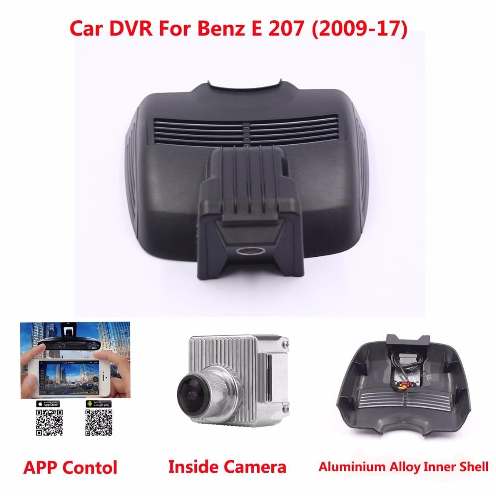 Hidden Car DVR Camera For Benz E 207 (Year 2009-17) Support APP Control Novatek 96655 use SONY 322 Sensor Camcorder Dash Camera