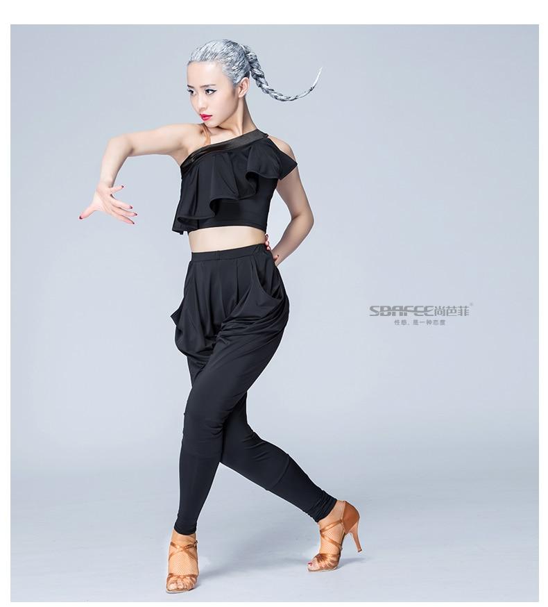2017 Latin dance pants sexy fashion training trousers for women free shipping 18