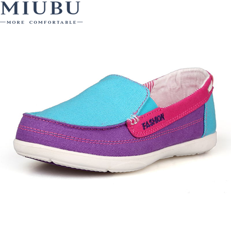 MIUBU Fashion Trainers Sneakers Women Casual Shoes air Mesh Grils Wedges Canvas Shoes Woman Tenis Feminino Zapatos Mujer