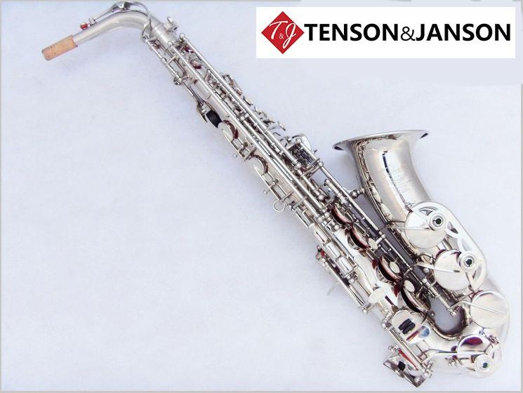 электронная джаз альт саксофон труба чистый белый музыкальный инструмент музыка подарок романтический