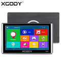 XGODY 826 7 inch Capacitive Screen Car Truck GPS Navigation 256M 8GB Bluetooth AV-IN FM 2016 Europe Navitel Russia Free Maps
