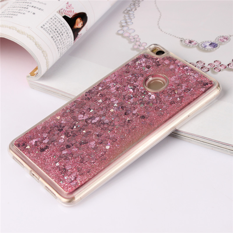 New Glitter Liquid Cases For <font><b>Xiaomi</b></font> <font><b>Mi</b></font> <font><b>Max</b></font> <font><b>2</b></font> Max2 Case TPU Cover Silicone Phone Housing <font><b>Funda</b></font> Shine Hoesje Shiny Etui Back Coque image