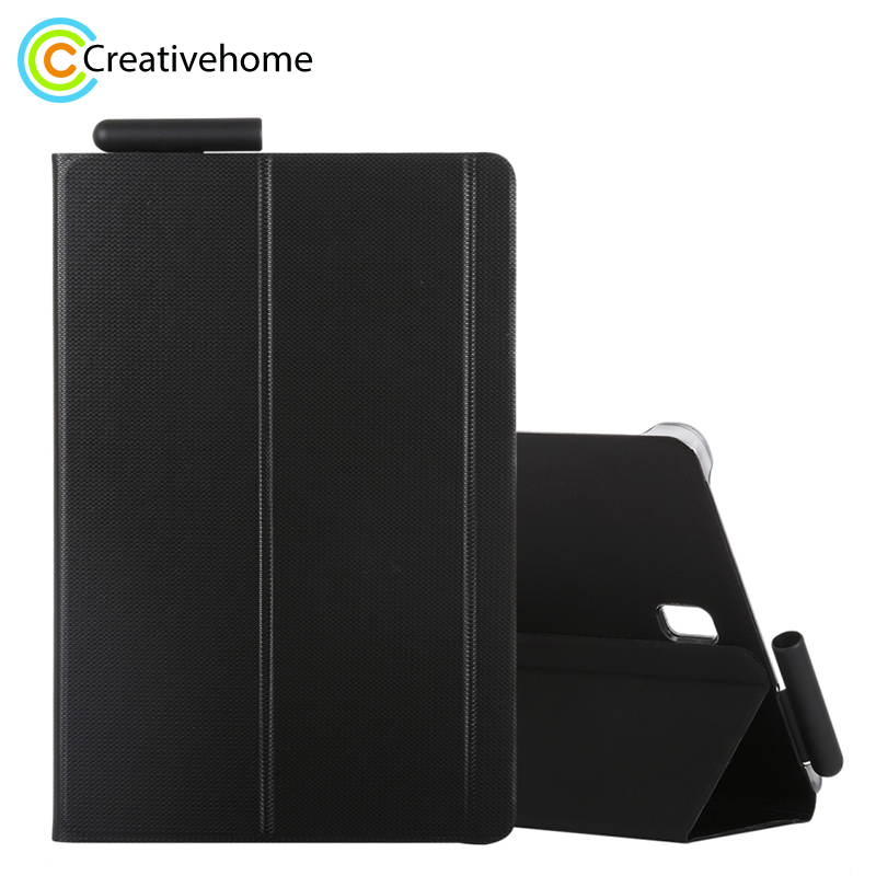 for Samsung Galaxy Tab S4 Woven Texture Horizontal Flip Leather Case for Galaxy Tab S4 10.5 T830 / T835 with Holder цены