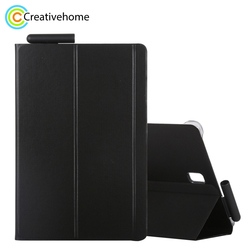 for Samsung Galaxy Tab S4 Woven Texture Horizontal Flip Leather Case for Galaxy Tab S4 10.5 T830 / T835 with Holder