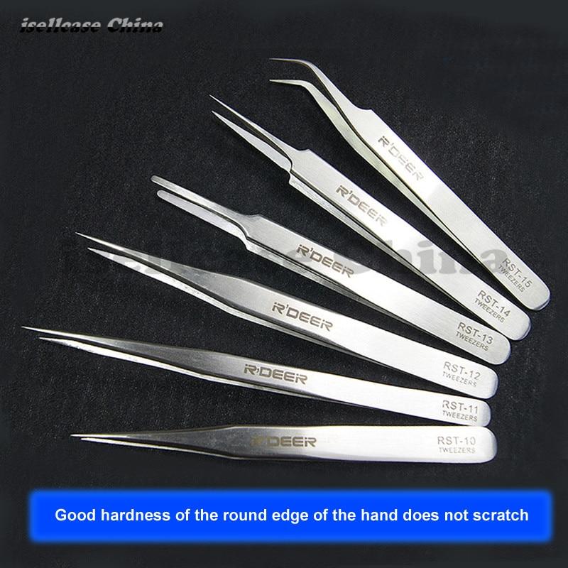 Pinzas antiestáticas ESD pinzas endurecidas pinzas de abrazadera de - Juegos de herramientas - foto 2