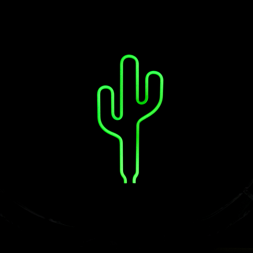 retro neon sculpture real glass tube cactus neon lamp sign 12v dc cactus neon light neon sign. Black Bedroom Furniture Sets. Home Design Ideas