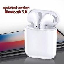 Гарнитура обновления 5,0 Bluetooth наушники i9s Беспроводные наушники с микрофоном Зарядка коробка мобильный стерео вкладыши спорт ухо телефон