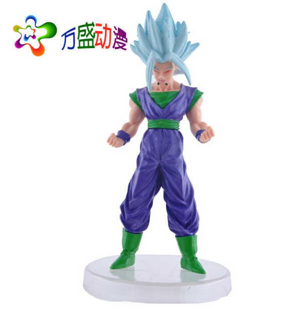 6 pçs/set 12 - 13 cm Dragon Ball figuras de ação Anime PVC brinquedos figuras coleção brinquedos AnnO00703M