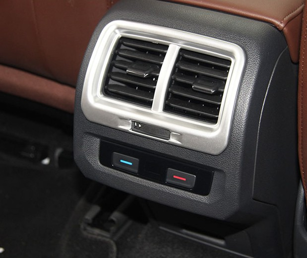 For VW Volkswagen Touran 2016 2017 font b Interior b font Rear Air AC Vent Outlet