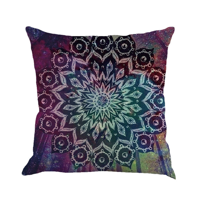 Square Shaped Cushion Cover
