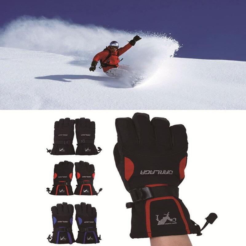 Guantes de senderismo Hombre Caliente Impermeable dedo Completo de Esquí de La M