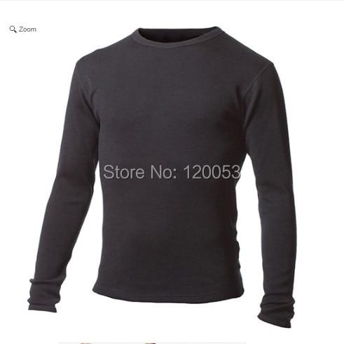 Heavy 400GSM Interlock Men s 100 Australia Merino Wool Underwear Top Men s Merino Wool Baselayer