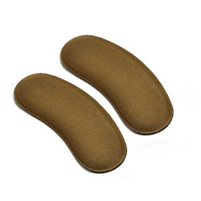 15 คู่รองเท้าสติกเกอร์ส้นส้น Protector Liner Boot Insoles Pad สูง Heel Cushion Liner Grips ฟองน้ำ Yard แผ่นหนา