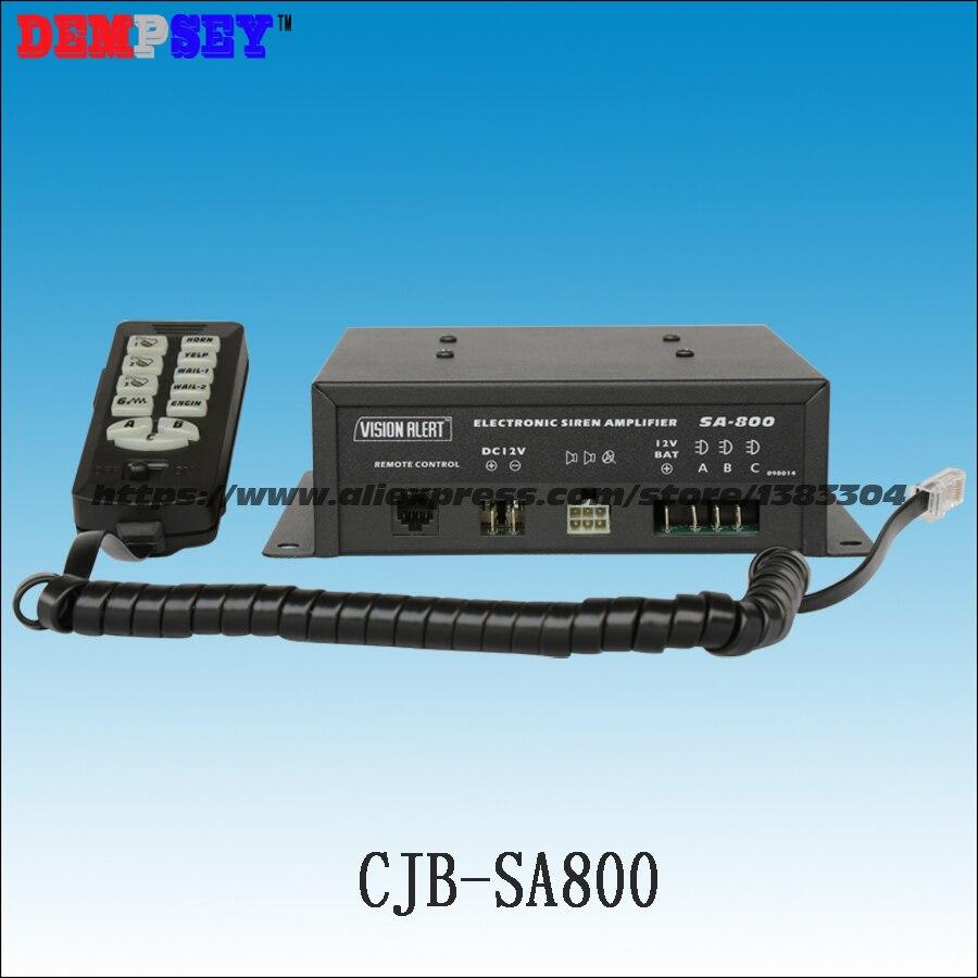 SA800 высокого качества 300 Вт полицейская сирена, 300 Вт Динамик сигнализации, пожарной/спасения/аварийного автомобиля, с 3 выключатели, без Дина