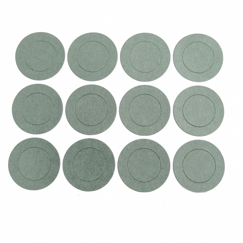 1000pcs 1S 21700 Li Ion Battery Insulation Gasket Barley Paper Battery Pack Cell Insulating Glue Patch Electrode Insulated Pads