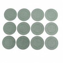Juntas aislantes de batería de iones 1000 Uds. 1S 21700, paquete de baterías de papel de cebada, parche adhesivo aislante de células, almohadillas aislantes de electrodos