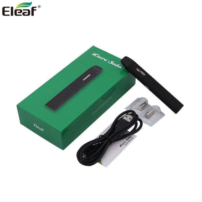 100% оригинальный начальный комплект Eleaf iCare Solo Kit «все в одном» с емкостью 1,1 мл и батареей емкостью 320 мАч