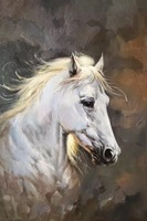 Frameless Horse Abstract Handed painting Oil Painting By Numbers Home Decor Wall Art Picture For Living Room Wall Painting