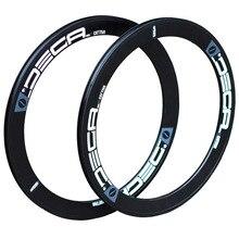 """DECA 20"""" 1 1/8"""" Alloy Rim 22"""" 451 406 20H 24H for Minivelo Mini Velo Folding Bike V  Caliper Disc Brake Rims Seemless Weld"""