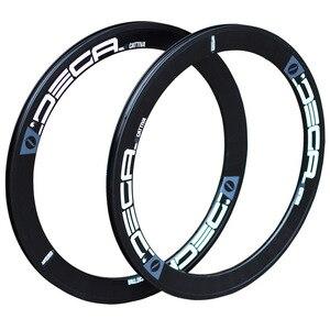"""Image 1 - DECA 20"""" 1 1/8"""" Alloy Rim 22"""" 451 406 20H 24H for Minivelo Mini Velo Folding Bike V  Caliper Disc Brake Rims Seemless Weld"""